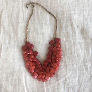 Ombré Red Beaded Necklace